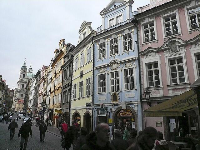 La ville de Prague.
