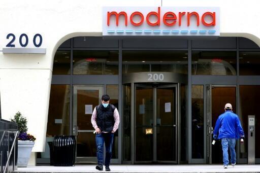 Trụ sở hãng dược phẩm Mỹ Moderna.