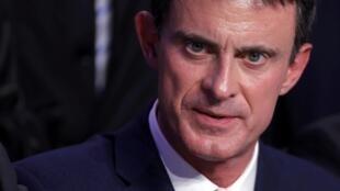 Manuel Valls, en conférence de presse à Nancy, le 2 décembre 2016.