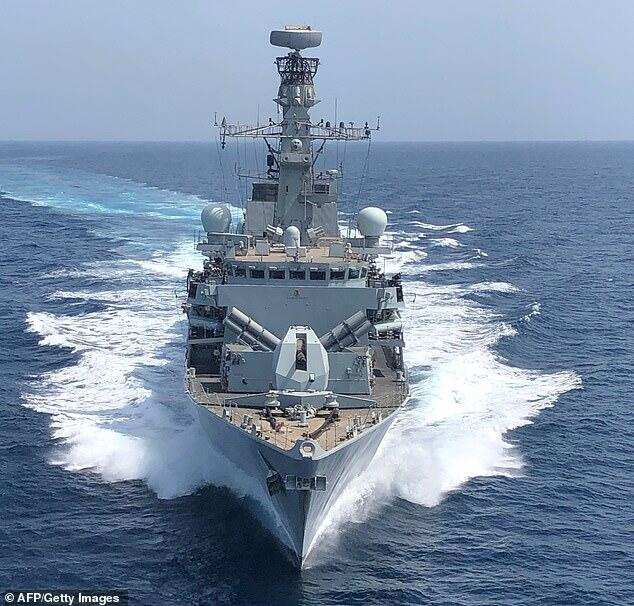 "ناوشکن ""اماچاس دانکن"" نیروی دریایی بریتانیا"