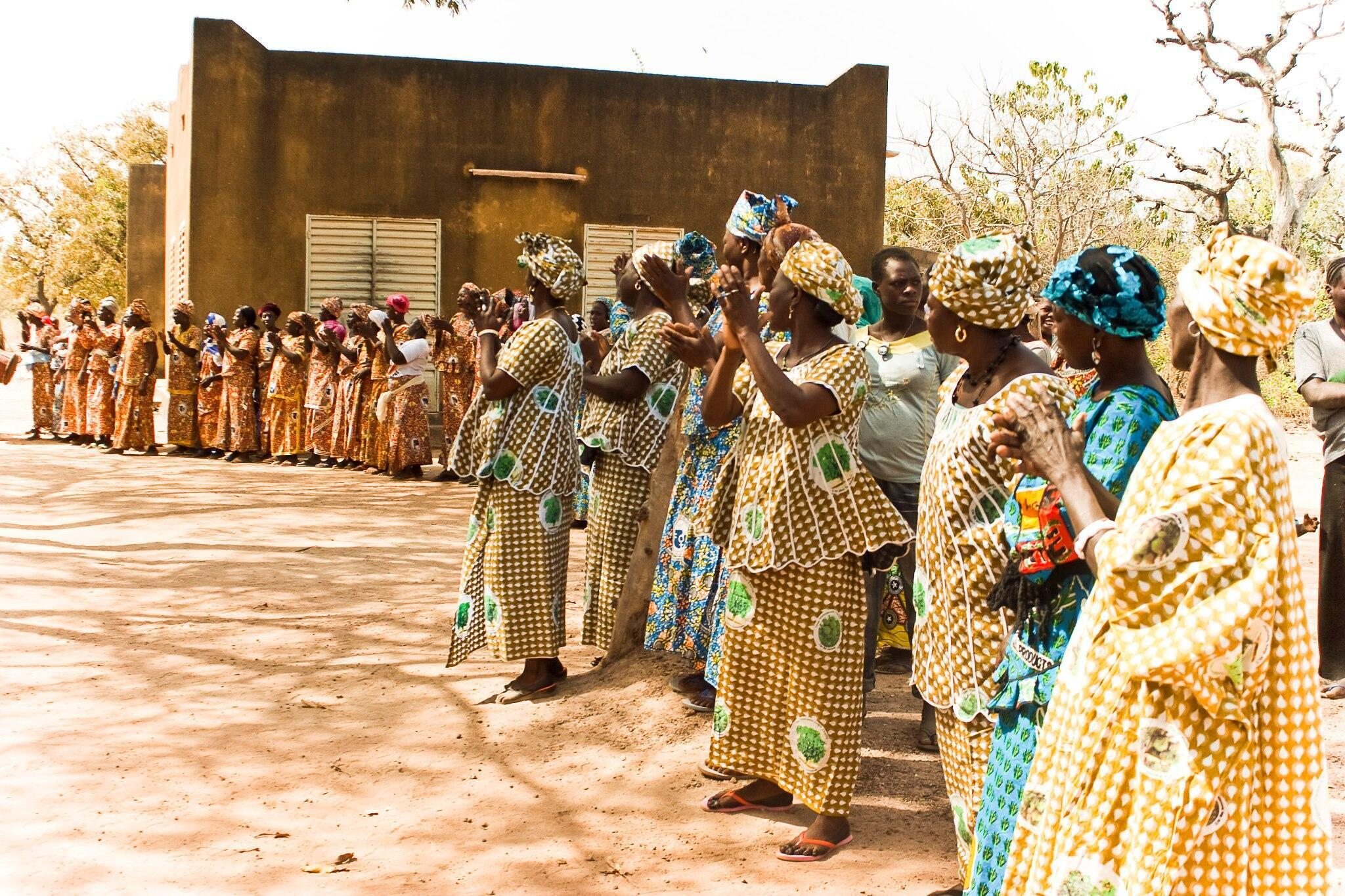 L'Occitane Foundation supports projects helping women in Burkina Faso
