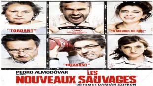Affiche du film, « Les Nouveaux Sauvages »du réalisateur argentin Damian Szifron.