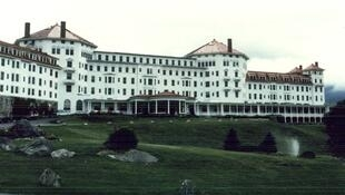 Hotel Mount Washington, en Bretton Woods, donde se realizó la histórica Conferencia de 1944.