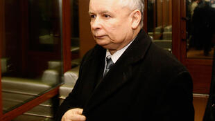 Jaroslaw Kaczynski, frère jumeau de Lech Kaczynski, sera candidat à la présidence. Photo prise en avril 2010.
