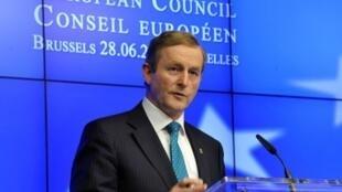 Enda Kerry, primeiro-ministro irlandês.