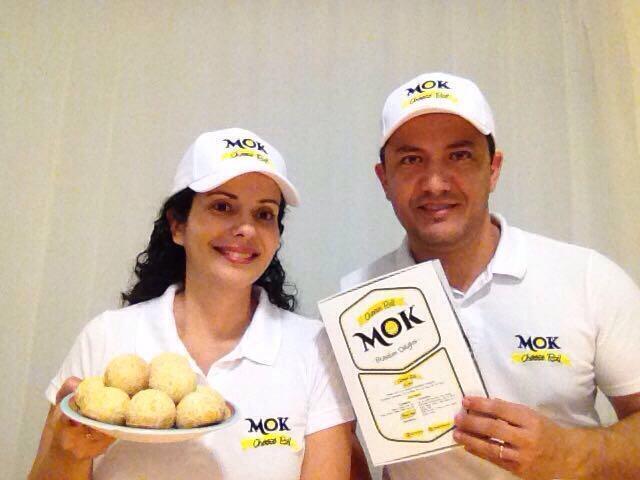 O pão de queijo mudou a vida dos paulistas Renata e Moacir Araújo na África do Sul.