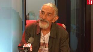 Reginaldo Maia, mestre de capoeira angola, que veio a Paris participar do I Encontro Internacional da Cultura Ancestral Brasileira.