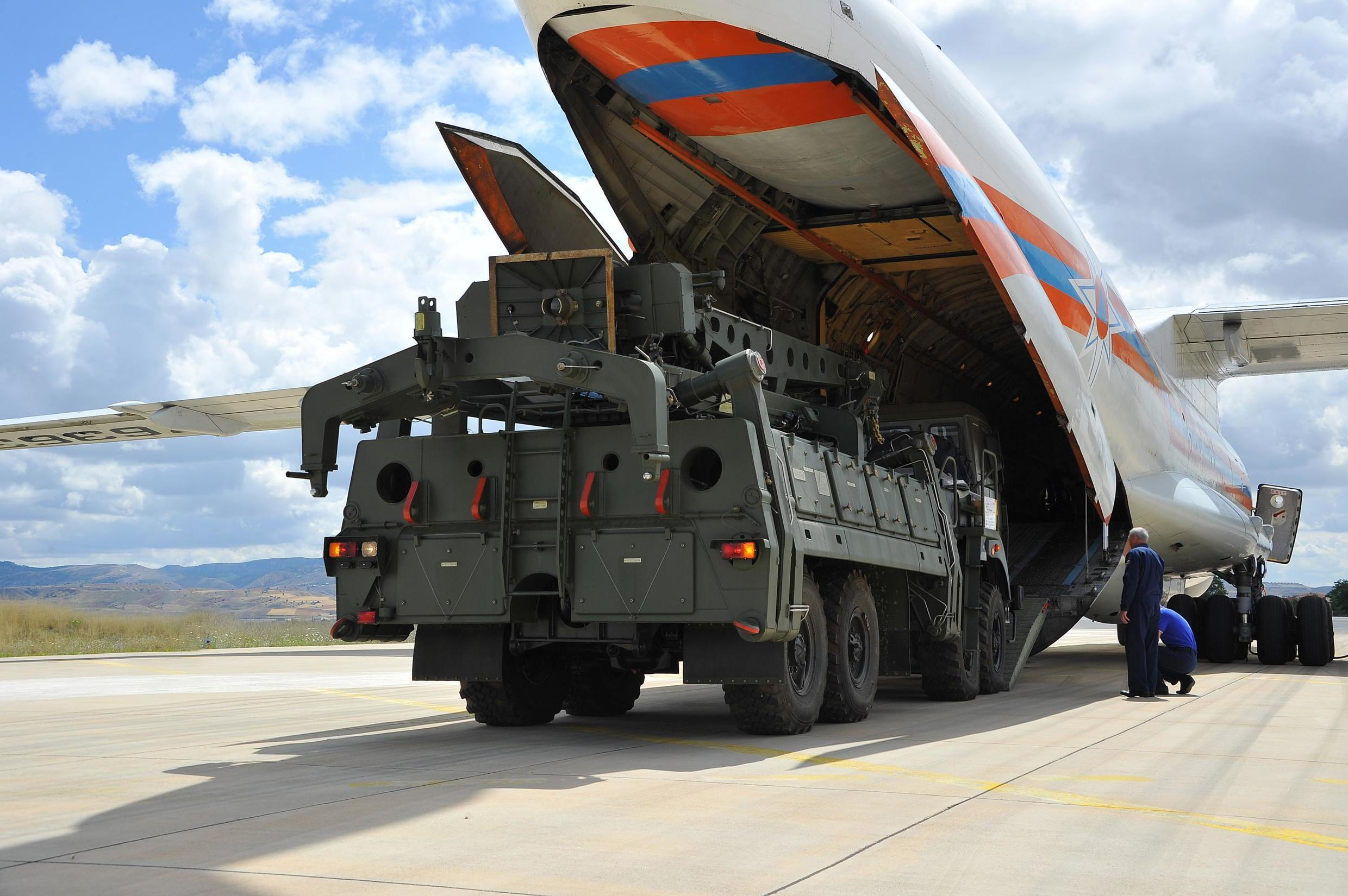 Russia began delivering the first S-400 missiles to Turkey on 12 July