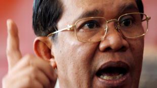 Thủ tướng Cam Bốt Hun Sen.