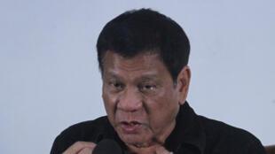 El presidente filipino Rodrigo Duterte en Davao en el sur del país el pasado 2 de junio.