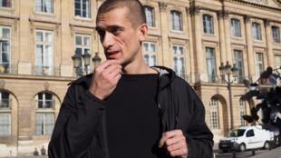 The Russian artist, Piotr Pavlenski