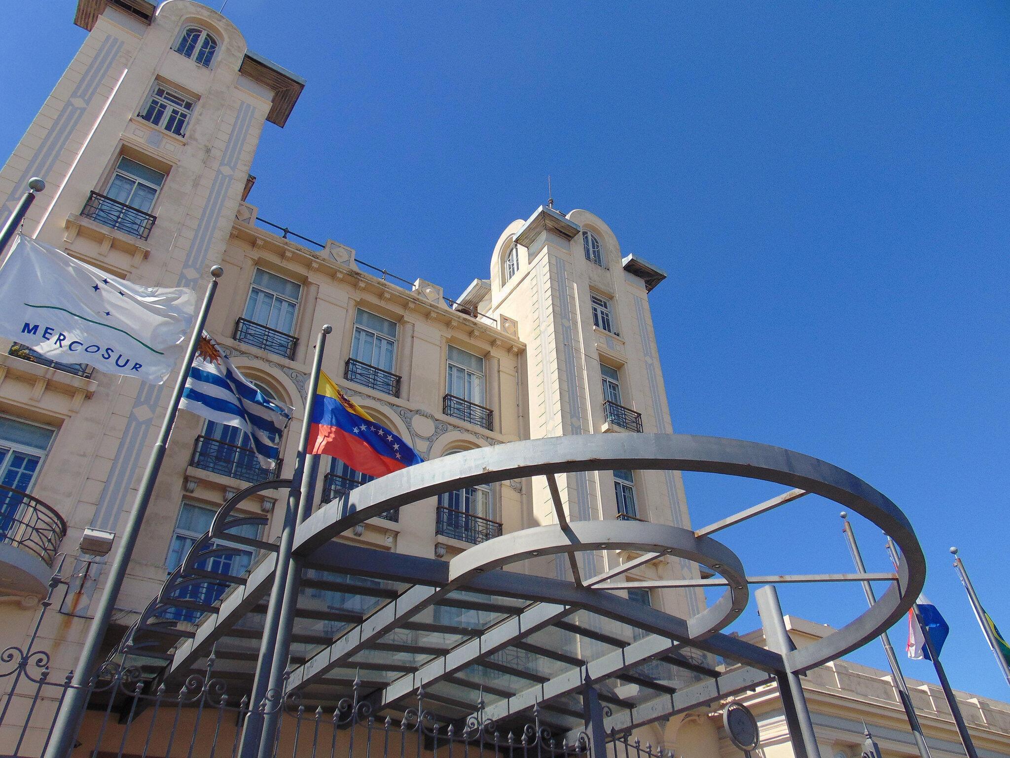Sede do Mercosul em Montevidéu, no Uruguai.