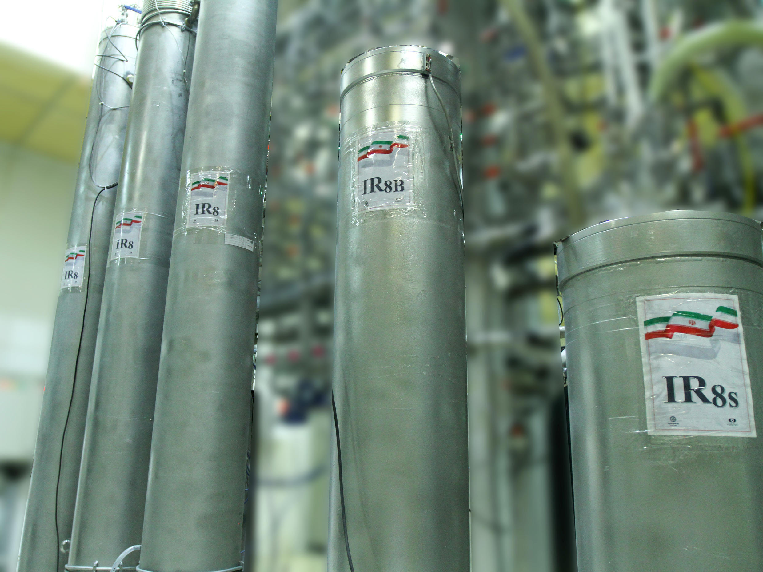 The type of centrifuges used at Iran's uranium enrichment plant in Natanz are one of the key restrictions it signed up to under a troubled 2015 nuclear deal with major powers