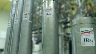 O tipo de centrífugas usadas na planta de enriquecimento de urânio do Irã em Natanz contradiz uma das principais restrições que o país assinou no âmbito de um conturbado acordo nuclear de 2015 com as grandes potências.