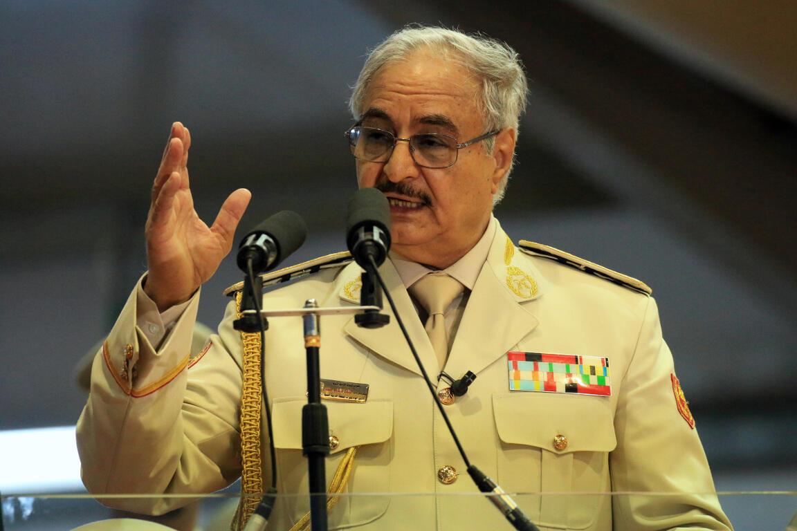 Халиф Хафтар поддерживает сформированное в 2014 году «правительство в Тобруке»