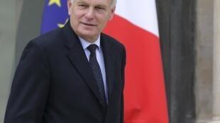 O primeiro-ministro da França, Jean-Marc Ayrault.