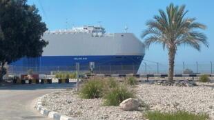 کشتی اسرائیلی وارد بندر رشید دوبی شد