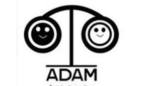 Logo de l'association ADAM,  association de défense des droits des noirs en Tunisie.