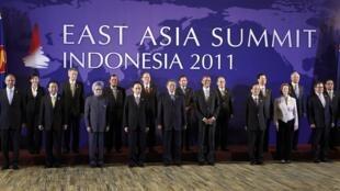 Toàn cảnh Hội nghị Thượng đỉnh Đông Á ngày 19/11/2011 tại Bali (Indonesia)