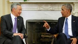 新加坡总理李显龙访美受到美国总统奥巴马高规格接待