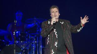 Johnny Clegg en concert au Cap le 30 juin 2017.