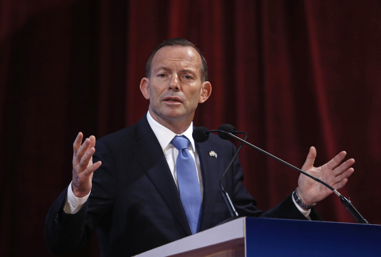 លោកថូនី អាបត (Tony Abbott) នាយករដ្ឋមន្រ្តីអូស្រ្តាលី (រូបថតឯកសារ)