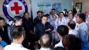 中国总理李克强20日访问青海要求医护人员做好预防武汉肺炎的准备