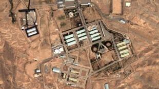 تصویر ماهوارهای سایت پارچین