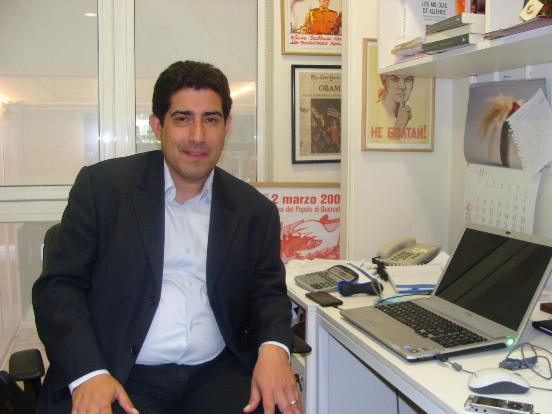 Patricio Navia, cientista político e sociólogo chileno, da Universidade de Diego Portales e da New York University