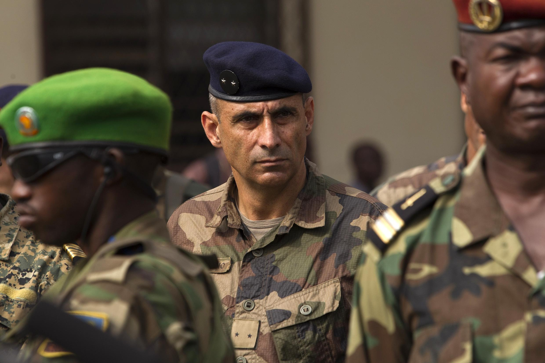 法國在中非軍事行動指揮官Francisco Soriano