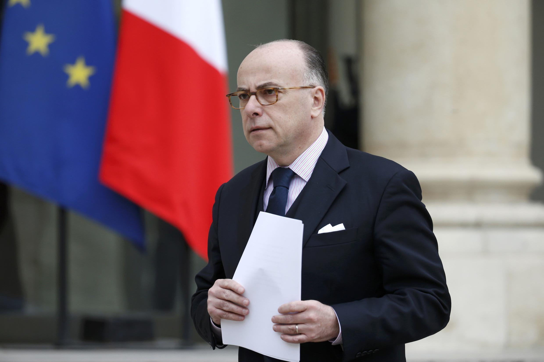 O ministro do Interior francês, Bernard Cazeneuve.