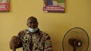 Un membre de la Fondation Espoir Guinée