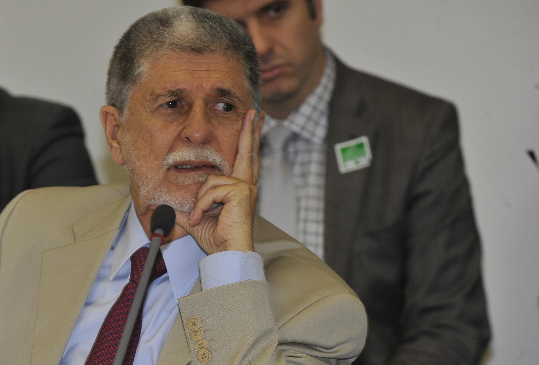O Ministro Brasileiro da Defesa, Celso Amorim