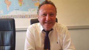 Michel Portier, agriculteur dans l'Oise, directeur général de la société Agritel.