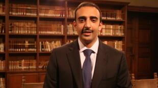Bahrain's Oil minister Mohamed Khalifa Al-Khalifa speaks to the Euro Gulf Information Centre, Rome, Italy
