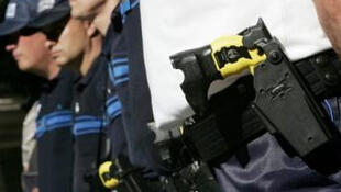 Police in Nice armed with Tasers