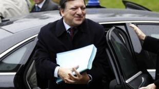 លោក José Manuel Barroso ប្រធានគណៈកម្មការអឺរ៉ុប