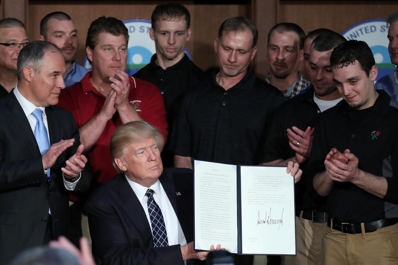 特朗普簽署 « 能源獨立 »政令