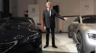 l presidente del grupo francés automotor PSA Peugeot Citroën, Carlos Tavares