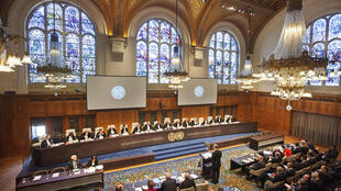 Abertura do processo entre o Chile e a Bolívia sobre o acesso ao oceano Pacífico, no Tribunal Internacional de Haia. 4/05/15.