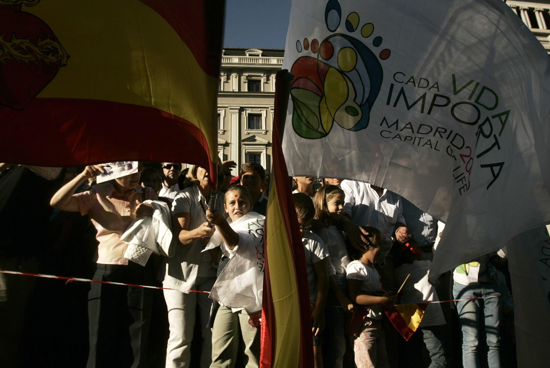 La modificación de la ley ha suscitado movilizaciones a favor y en contra igual que en 1985.