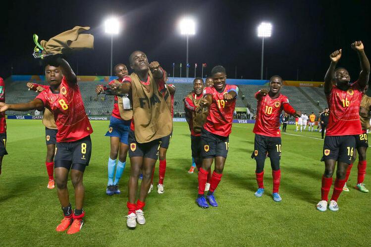 """Selecção angolana de futebol sub-17 """"Palanquinhas"""" eliminada nos oitavos de final pela Coreia do Sul"""