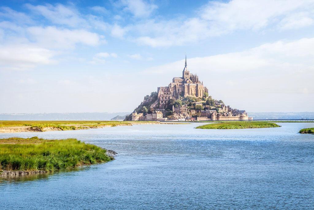 The bay of Mont Saint-Michel