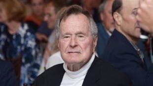 O ex-presidente americano George H.W. Bush.
