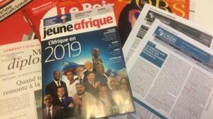 Capas dos semanários de 29/12/2018