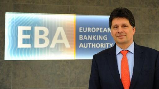 Adam Farkas, lãnh đạo Cơ Quan Ngân Hàng (EBA), ngày 23/03/2017.