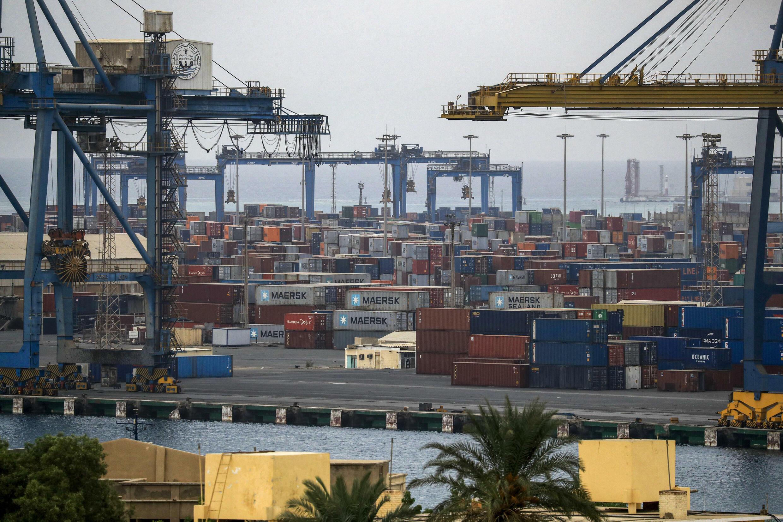 Port-Soudan  - Port - conteneurs - mer rouge