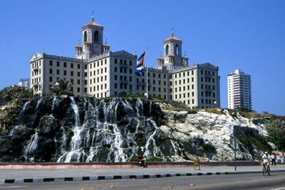 L'«hotel nacional» de la Havane, à Cuba.