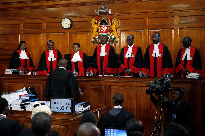 Juizes do Supremo Tribunal do Quénia