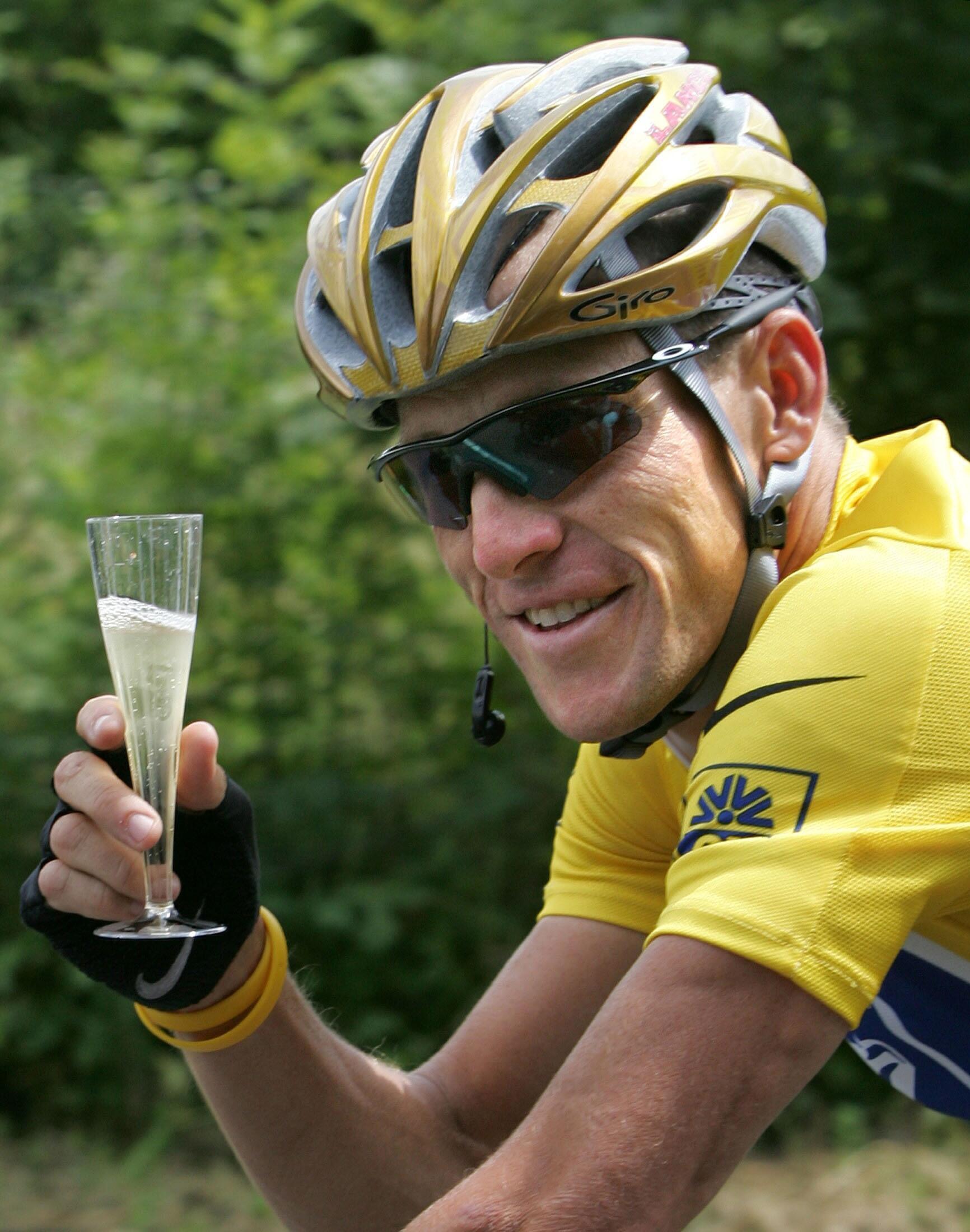 Lance Armstrong en 2004.